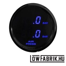 FAHRWairK - digitális dupla nyomásmérő - kék