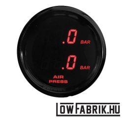 FAHRWairK - digitális dupla nyomásmérő - piros