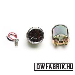 Viair analóg dupla nyomásmérő 0-160 psi fekete