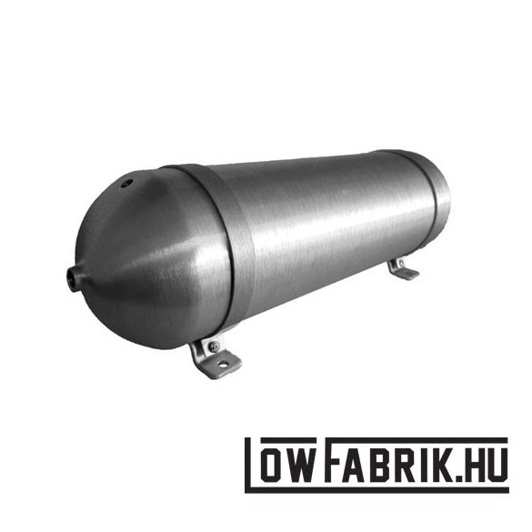 """FAHRWairK tankbomb1 - 3 Gallon - 24"""" - csiszolt alumínium"""