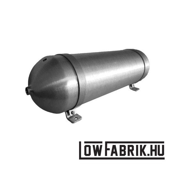 """FAHRWairK tankbomb2 - 5 Gallon - 32"""" - csiszolt alumínium"""